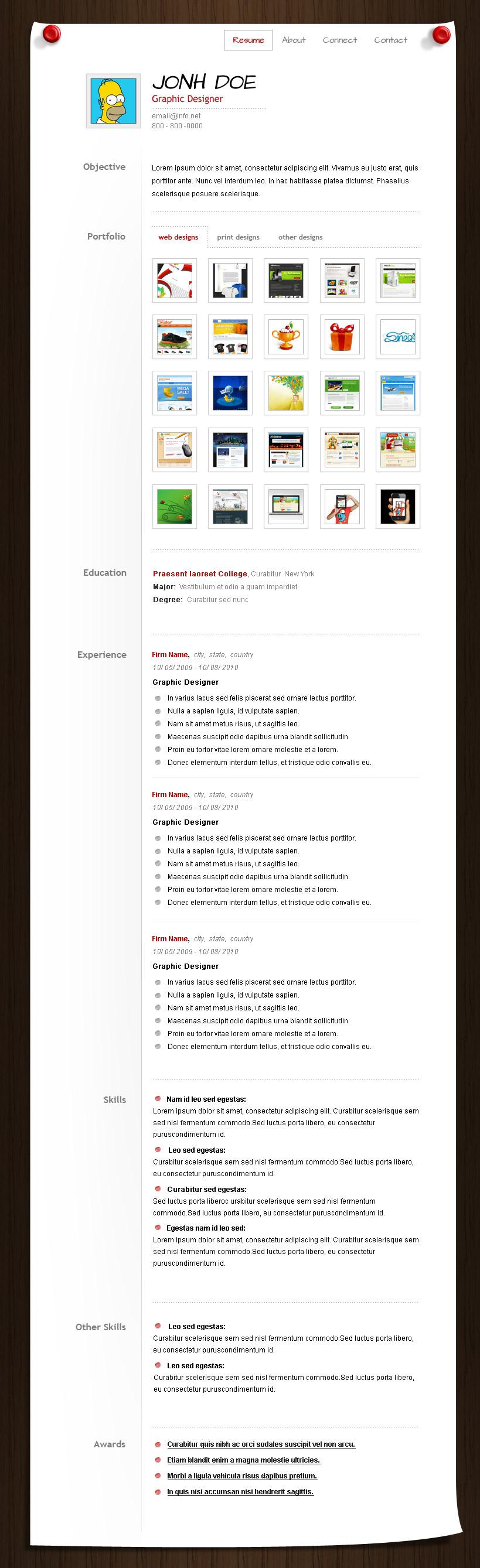 homer resume  u2190 open resume templates