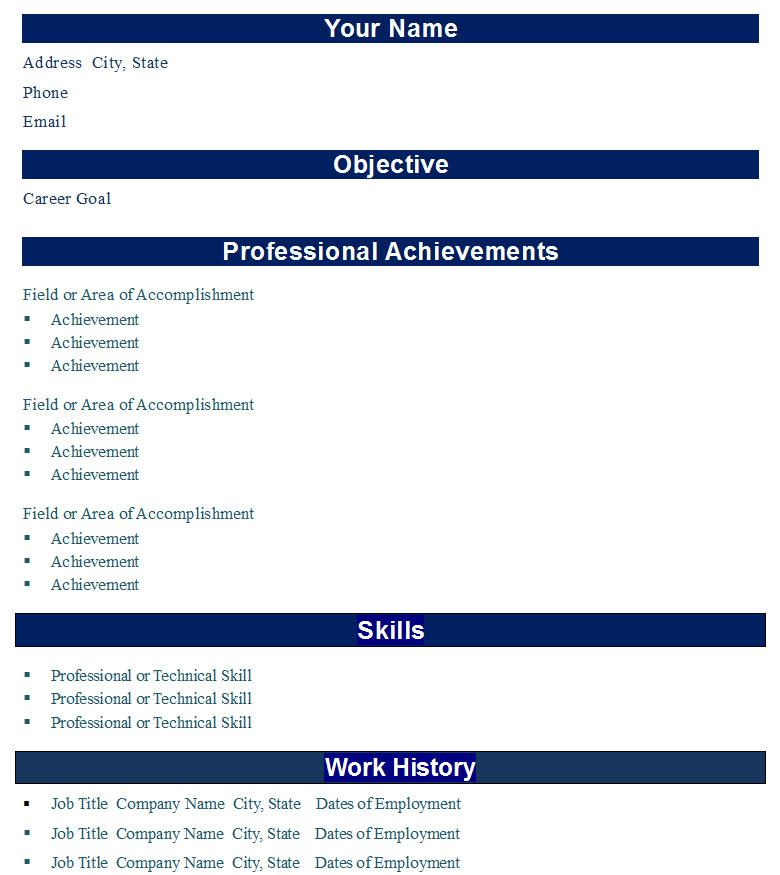 professional bold resume template  u2190 open resume templates
